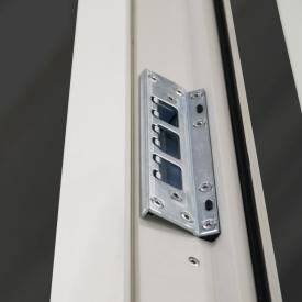 Frame IC og Nation IC sikkerhedsslutblik til facadedøre